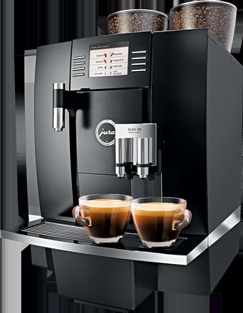 Jura Giga X8 (professzionális) kávégép