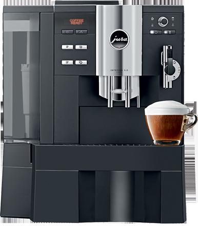 Jura Impressa XS9 professzionális kávégép